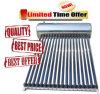 Unter Druck gesetzter Edelstahl-Wärme-Rohr-Vakuumgefäß-Sonnenkollektor-Panel-Heißwasserbereiter