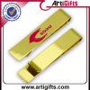 Oro su ordinazione di placcatura della clip dei soldi di promozione
