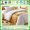 100% Algodão Folha Hotel Bright White Damask Stripe