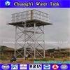 Galvanisierung-obenliegendes Wasser-Becken-Galvanisierung-Wasser-Becken-Stahlquadrat zusammengebaute Becken