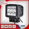 Indicatore luminoso di vendita caldo del lavoro del CREE LED di 12V 60W