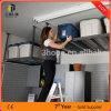 Kleinonlineali-Kuchen-Portugal-Metalllager-Garage-Speicher-Decken-Zahnstange, Qualitäts-Garage-Speicher-Zahnstange, Garage-Speicher-Fahrrad-Zahnstangen