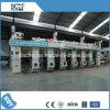 Impressora de cor não tecida Maquina da folha 9 da película da tela da máquina de impressão do Gravure Prensa De Impresion