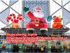De opblaasbare Decoratie van Kerstmis van de Kerstman van de Zitting