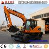 Excavador del material de construcción compañías de excavación del excavador de 12 toneladas