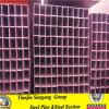 Baustahl-Quadrat-Fluss-Stahl-geschweißtes Stahlrohr