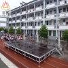 Estágio móvel da pista de decolagem da passarela do grande desfile de moda portátil móvel de alumínio do casamento do concerto de África