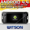 Witson Android 4.4 Car DVD para o calibre de Dodge com A9 o Internet DVR Support da ROM WiFi 3G do chipset 1080P 8g