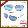 Óculos de sol na moda novos FM3180 do coração do metal