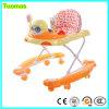 Camminatore unico aggiornato del bambino delle 8 rotelle del silicone di vendita superiore