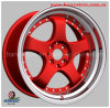 Красное Surface Alloy Rims для Car