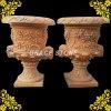 Gesneden Urn van het Ontwerp van Europa de Antieke Steen