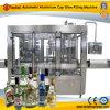 Automatische Aluminiumschutzkappen-Wein-Füllmaschine
