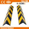 Plastikeckschutz-schwarzer u. gelber Spalte-Ecken-Schutz
