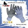 ранг покрынная PU отрезока 13G упорная руки перчатки уровня 3 и 5