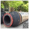 Boyau de dragage en caoutchouc de flottement de bride industrielle/usine en caoutchouc de pipe