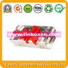 Contenitore rettangolare per la promozione, contenitore impaccante di stagno del regalo del metallo di latta