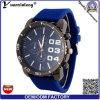 Reloj de lujo ocasional del silicón del reloj de goma del cronógrafo de la alta calidad del cuarzo del reloj de los hombres de la dial de la oferta de la promoción Yxl-176
