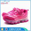 2016 zapatos ligeros más nuevos del cabrito de las zapatillas de deporte LED hechos en China