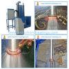 Tipo vertical aquecimento de indução do CNC que extingue a máquina-instrumento para 2.5m Rolls