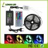 DC12V AC220V Flexible LED Strip Light 60 LED / Mètre 5m / Roll LED Corder Light avec télécommande