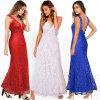 Le bal d'étudiants Backless de soirée de collet profond en gros de V habille les robes (A995)