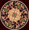 1200 * 1200mnm porcelánico pulido modelo del azulejo del diseño de alfombras de pared Suelos