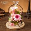 Fiore conservato per il regalo di compleanno del biglietto di S. Valentino