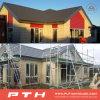 Proyecto de edificio ligero prefabricado de marco de acero para la casa moderna del chalet