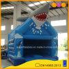鮫のモデル青く膨脹可能な警備員(AQ02265)