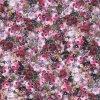 Elegant Lady Dress Impression numérique en soie en mousseline de soie (XF-0060)