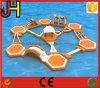 Het aangepaste Opblaasbare Park van het Thema van het Water van de Vlotter van het Spel van het Speelgoed van het Water Opblaasbare