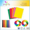 Couleurs de papier du bloc 10 de couleur de garniture de couleur