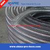 PVC TPU Claro alambre de acero flexible reforzado de conductos manguera de aire