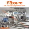 Máquina de rellenar del agua de 5 galones para el proceso de fabricación del agua embotellada