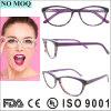 Frame ótico de venda quente Eyewear colorido do acetato das mulheres da forma