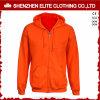 Donne su ordinazione arancioni di Hoodies degli uomini poco costosi di modo (ELTHI-1)