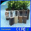 Disco istantaneo 8GB del USB dell'incisione di legno di cristallo libero di marchio