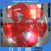 Aerostato di acqua umano ambulante della sfera dell'acqua rossa e libera di TPU