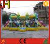 Интересный раздувной замок скольжения клоуна для сбывания