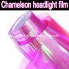 Colore rosa a Purple Chameleon Headlight Film, Chameleon Car Healight Wrapping Sticker