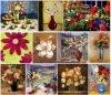 Pittura a olio di serie del fiore