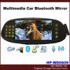 El espejo de Bluetooth del coche de las multimedias con 7 la '' pantalla, respaldo ató con alambre la cámara (HP-WD0)