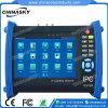 Probador analogico de 7 de la pulgada del CCTV HD Ahd cámaras del IP (IPCT8600HAD)