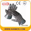 De herstelde Industriële Handschoenen van het Werk van de Veiligheid van het Leer van de Zweep van het Meubilair van de Palm (31014)
