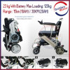 23/30kg Lightweight Mute Foldable Powerful Electric Wheelchair