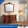 Шкаф ванной комнаты твердой древесины Antique тазика горячих сбываний керамический