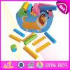 L'equilibrio di legno del blocco scherza il gioco W11f035 del giocattolo