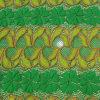 Nylon Spandex impresa flor del cordón de la tela de acoplamiento