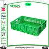 Embalaje plástico amontonable plegable de la fruta